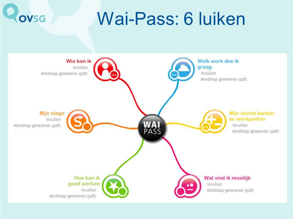 Wai-Pass: 6 luiken