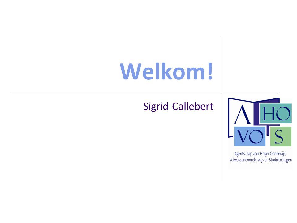 Welkom! Sigrid Callebert