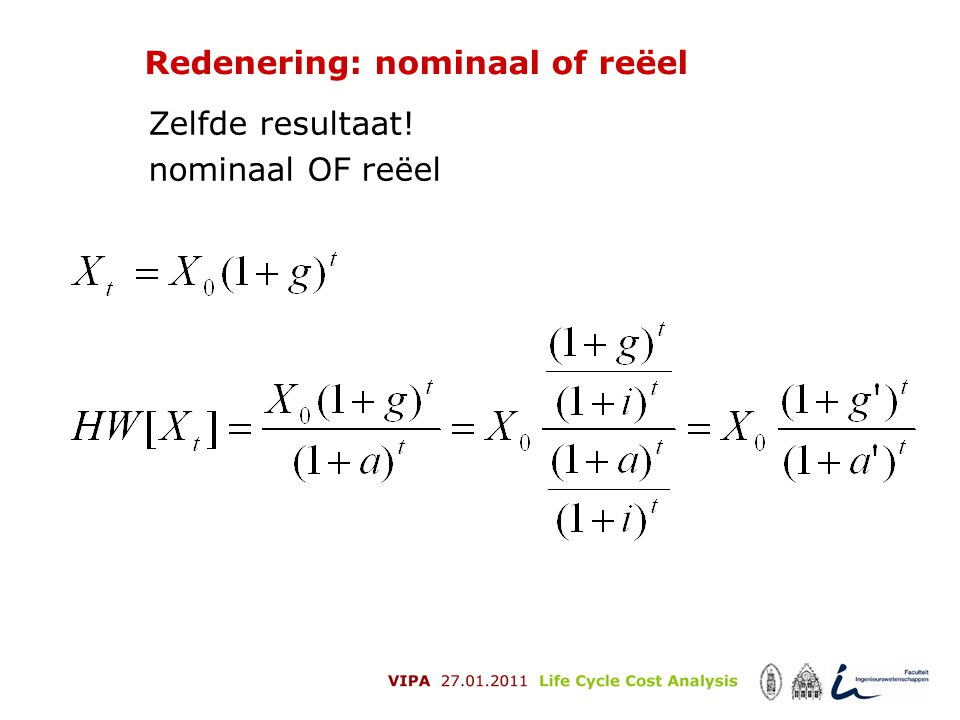 Redenering: nominaal of reëel
