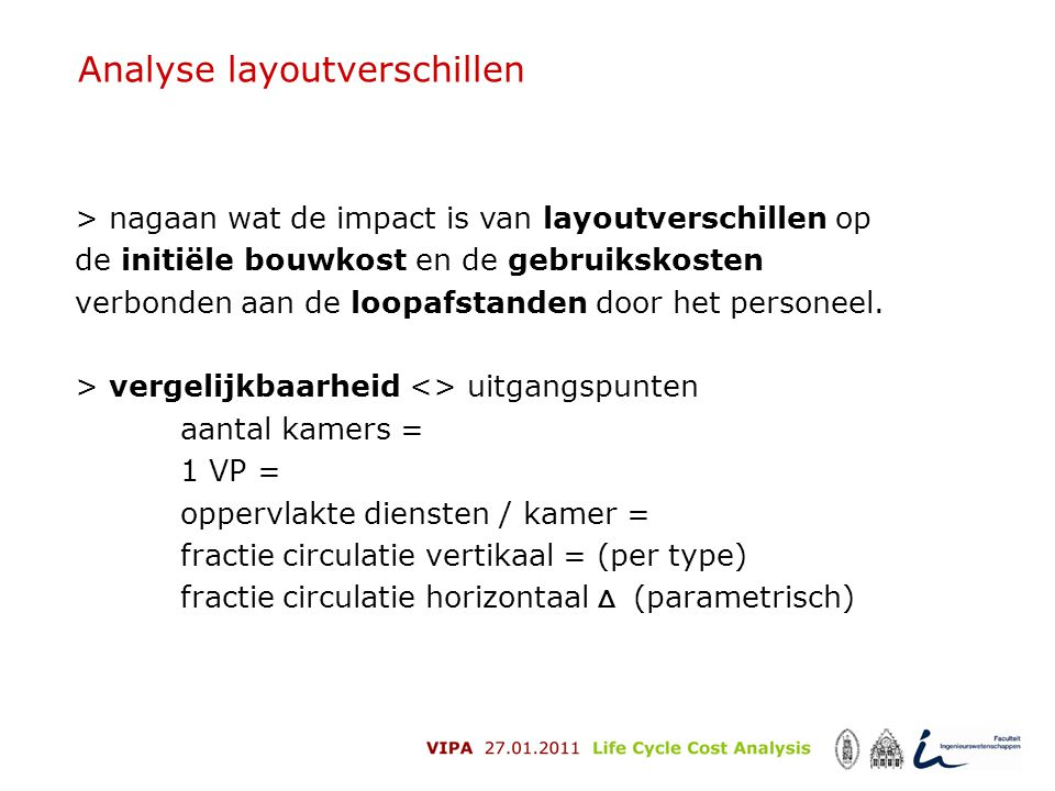 Analyse layoutverschillen