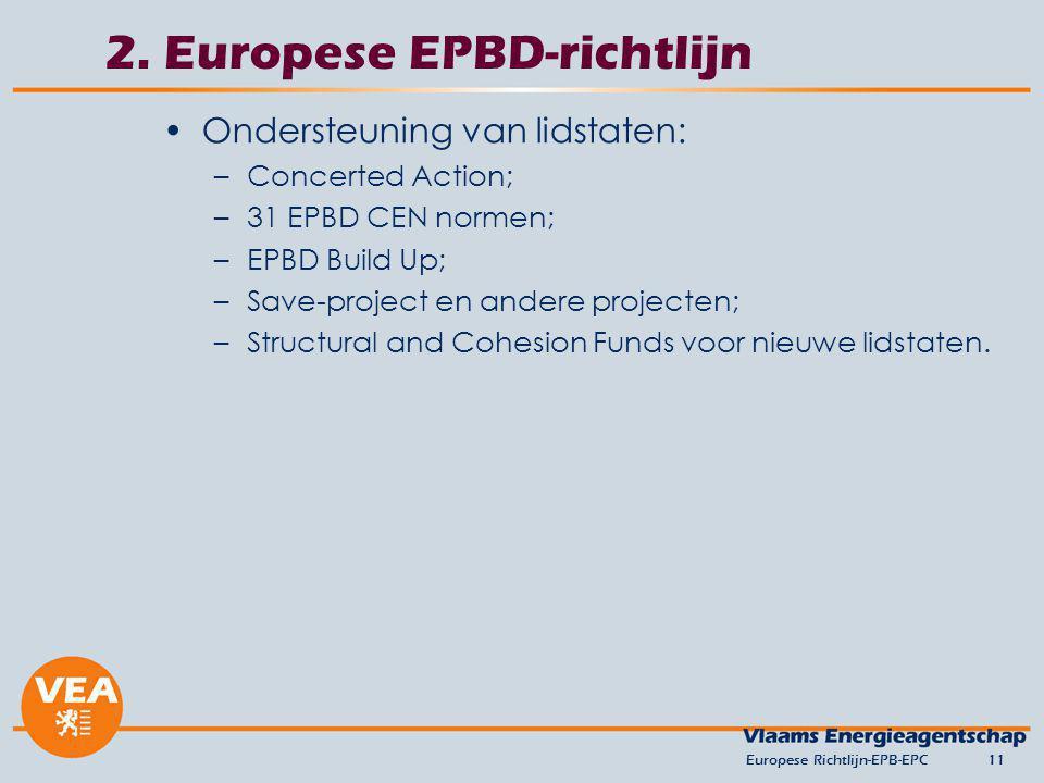 2. Europese EPBD-richtlijn