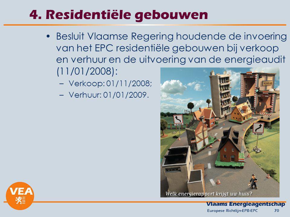 4. Residentiële gebouwen