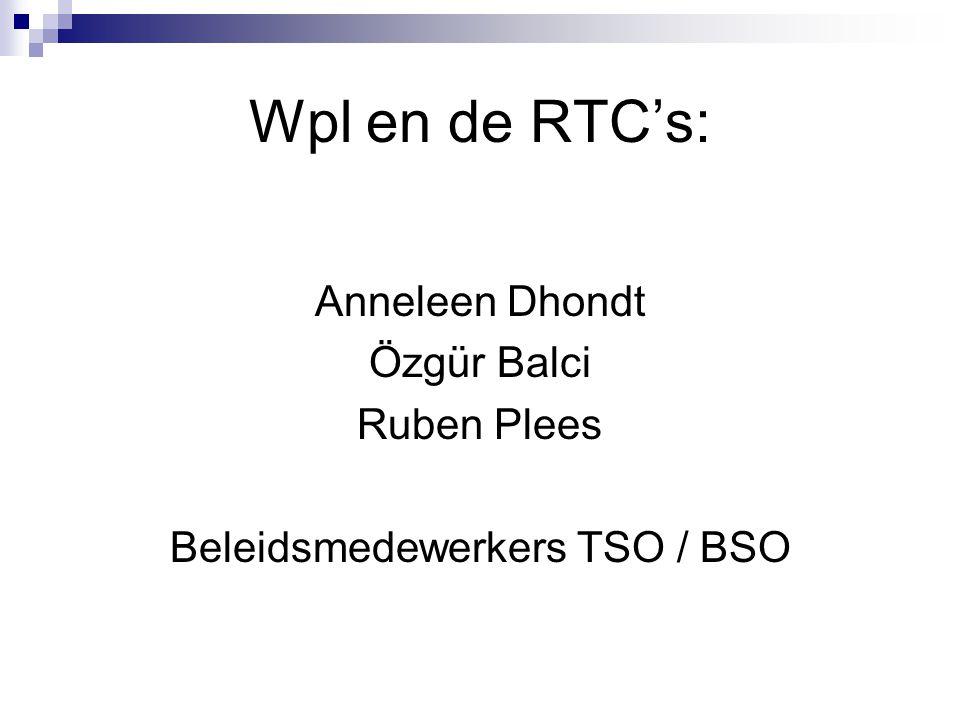Beleidsmedewerkers TSO / BSO
