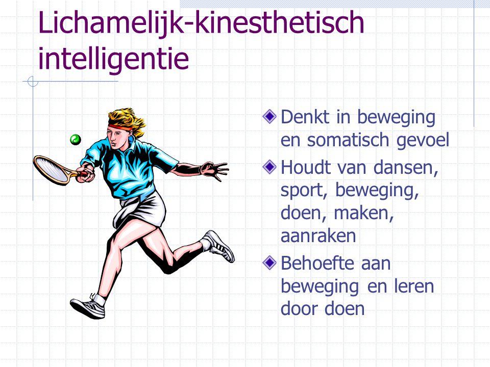 Lichamelijk-kinesthetisch intelligentie
