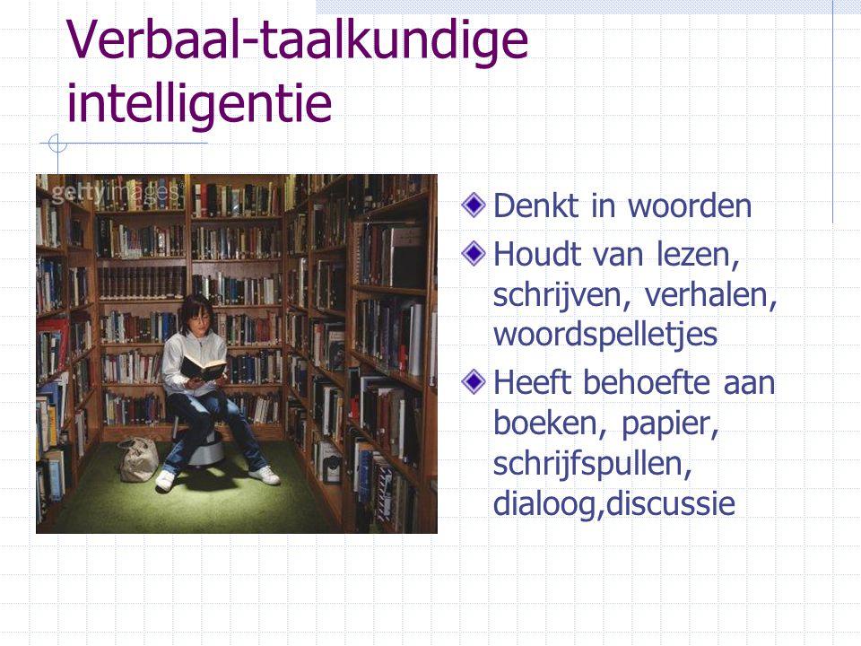 Verbaal-taalkundige intelligentie