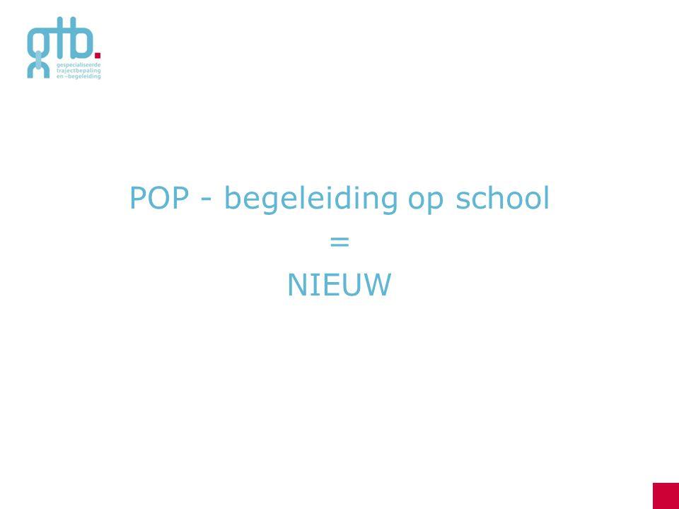 POP - begeleiding op school