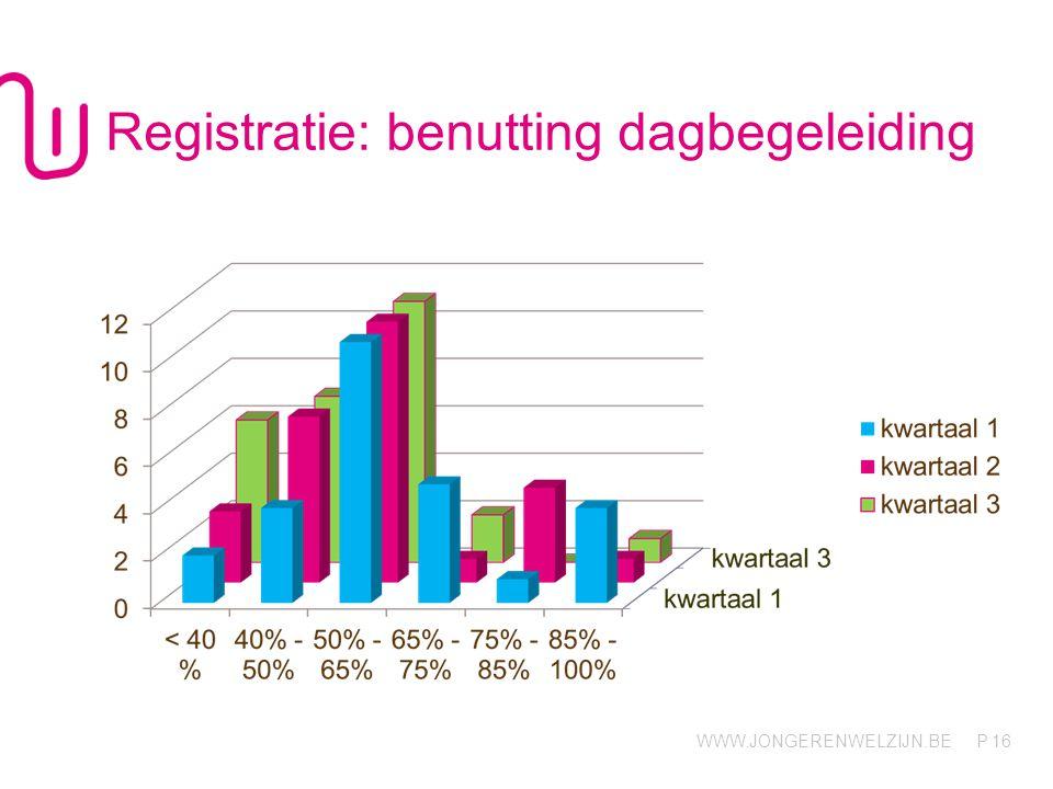 Registratie: benutting dagbegeleiding