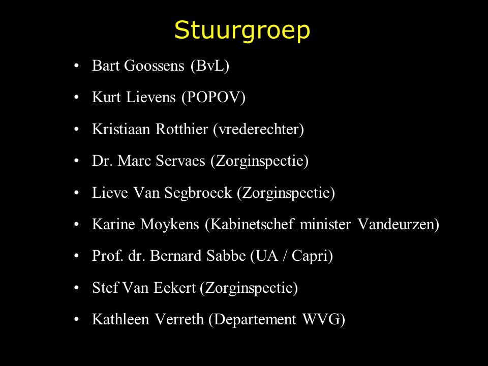 Stuurgroep Bart Goossens (BvL) Kurt Lievens (POPOV)