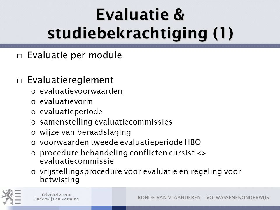 Evaluatie & studiebekrachtiging (1)