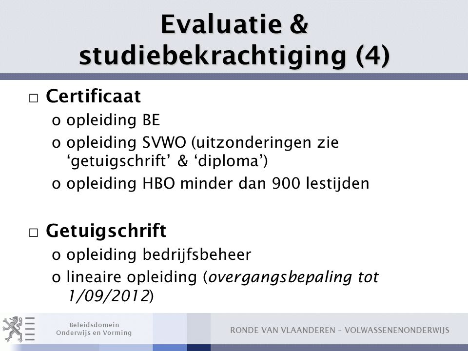 Evaluatie & studiebekrachtiging (4)