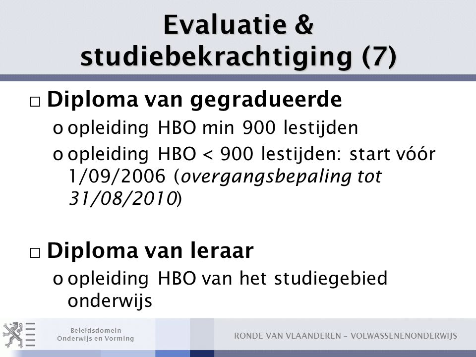 Evaluatie & studiebekrachtiging (7)