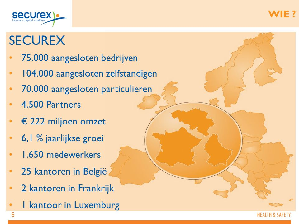 SECUREX WIE 75.000 aangesloten bedrijven