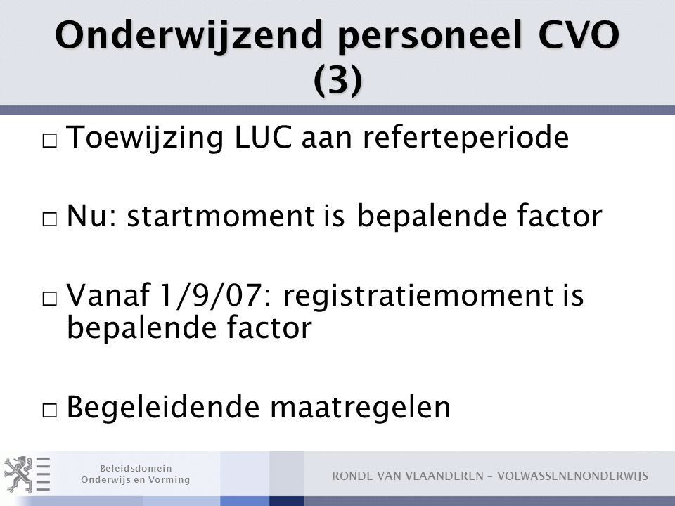 Onderwijzend personeel CVO (3)