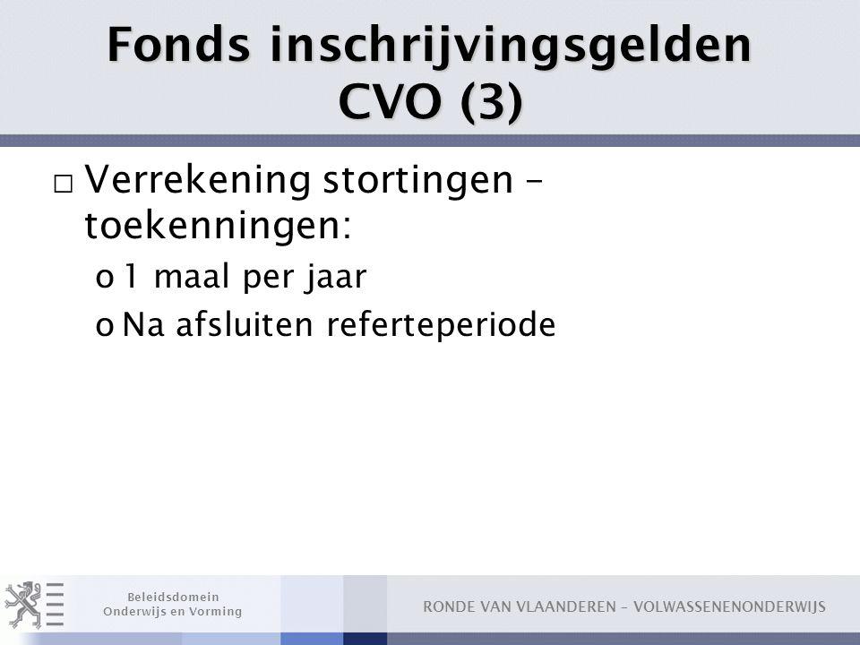 Fonds inschrijvingsgelden CVO (3)