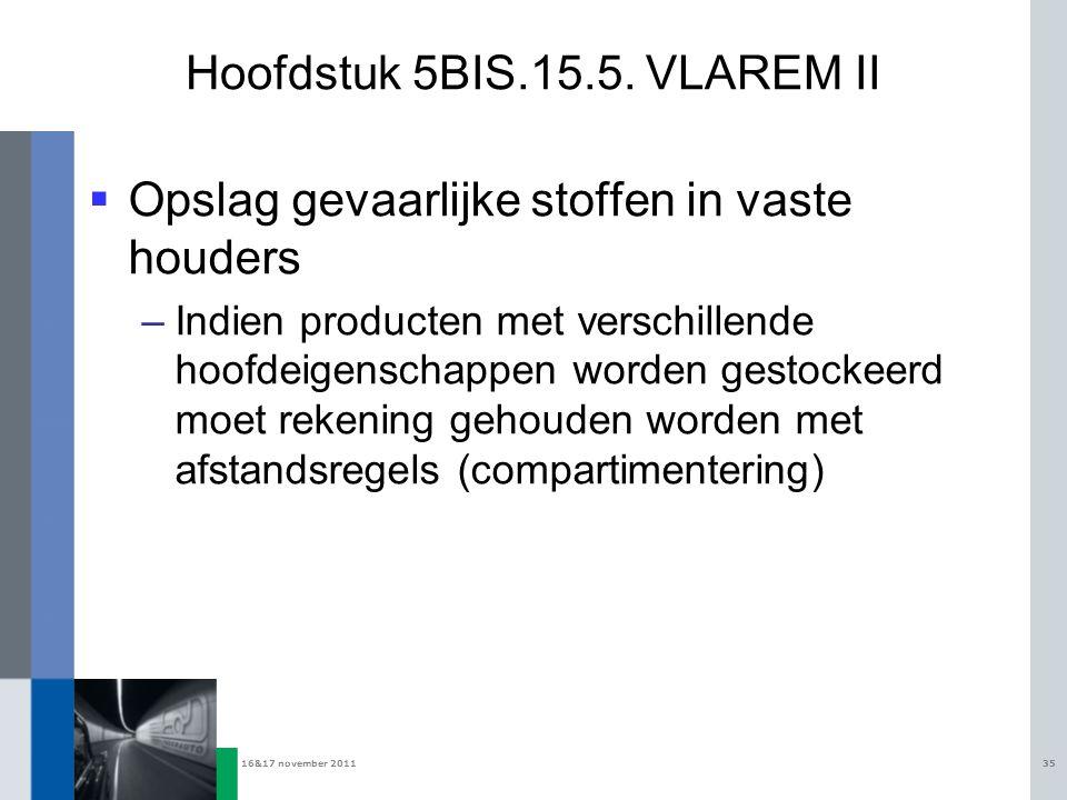 Hoofdstuk 5BIS.15.5. VLAREM II