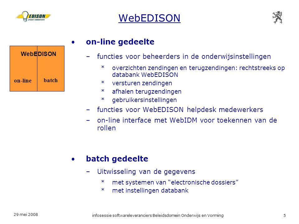 infosessie softwareleveranciers Beleidsdomein Onderwijs en Vorming