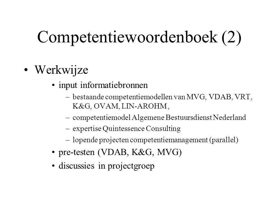 Competentiewoordenboek (2)