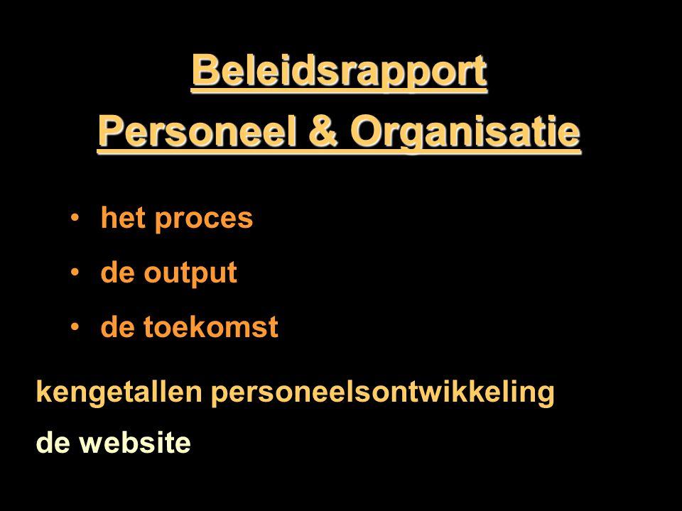 Personeel & Organisatie