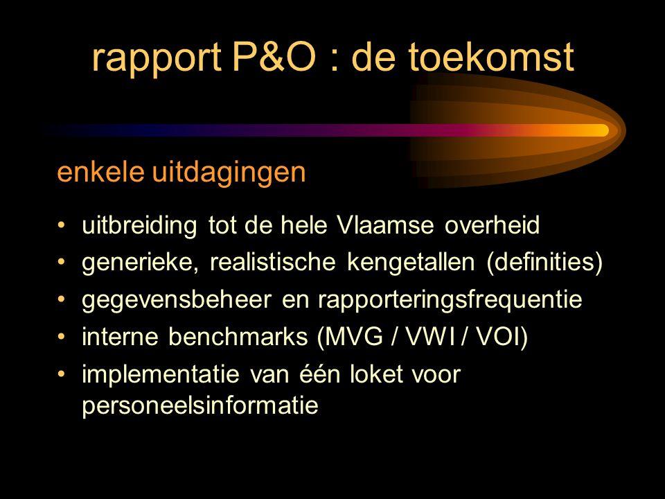 rapport P&O : de toekomst