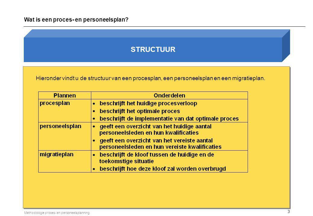 migratieplan STRUCTUUR (vervolg) Huidige situatie processen