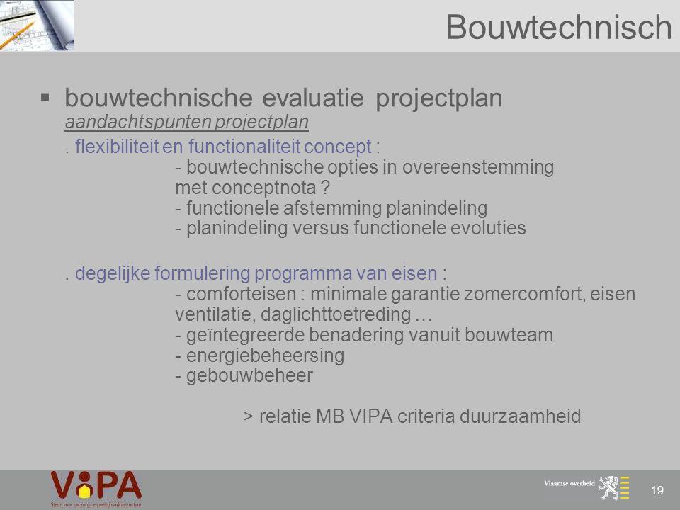 Bouwtechnisch bouwtechnische evaluatie projectplan aandachtspunten projectplan.