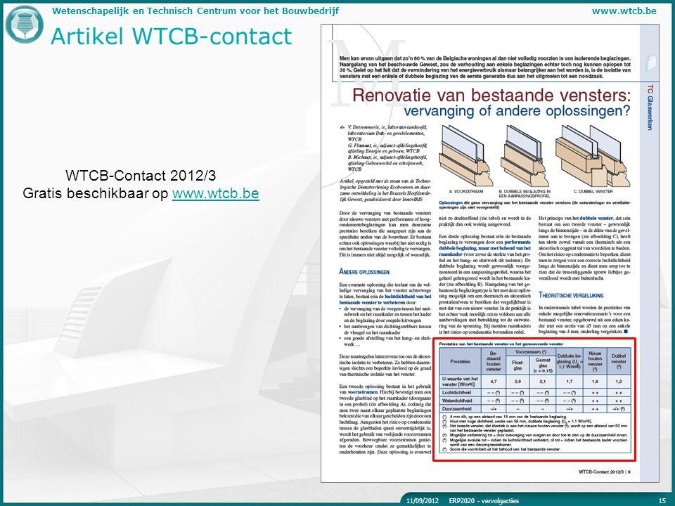 Gratis beschikbaar op www.wtcb.be