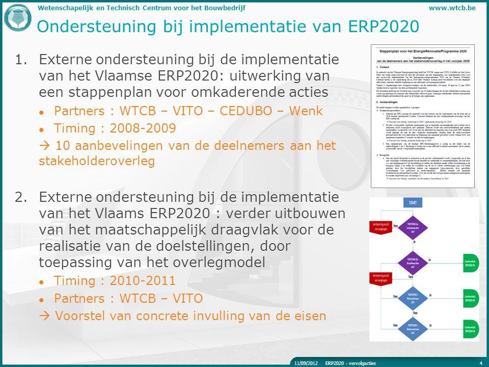 Ondersteuning bij implementatie van ERP2020