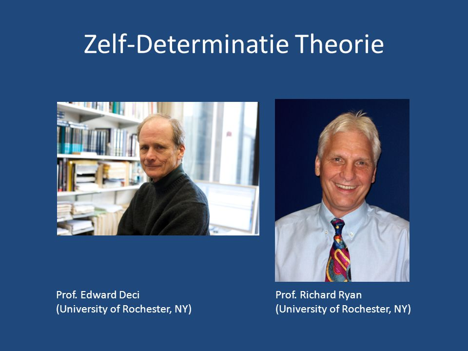 Zelf-Determinatie Theorie