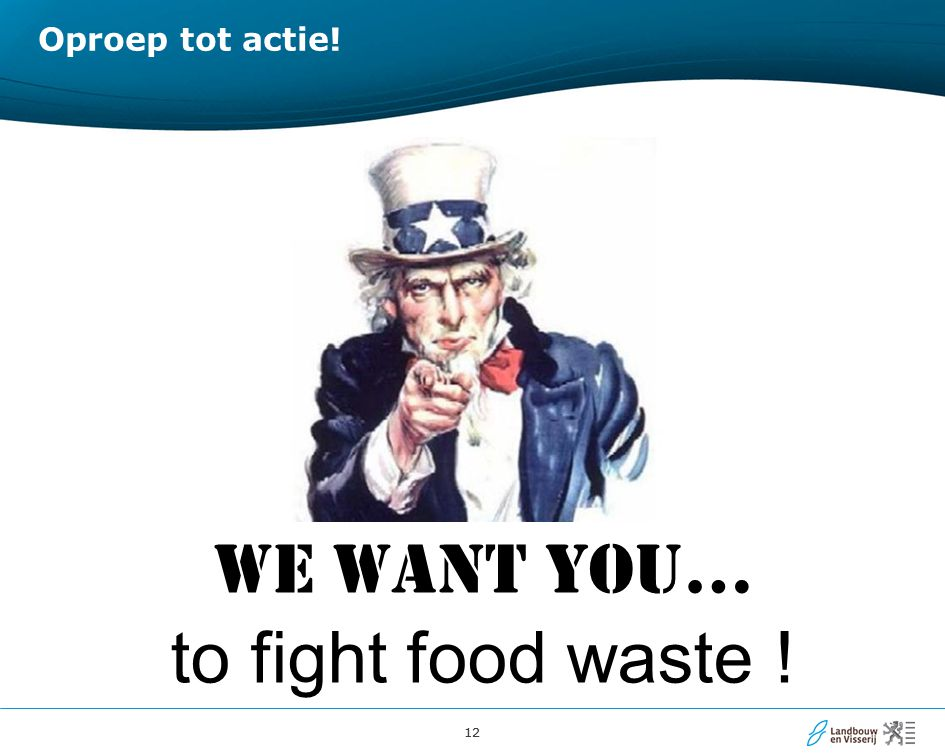 Oproep tot actie! WE WANT YOU… to fight food waste !