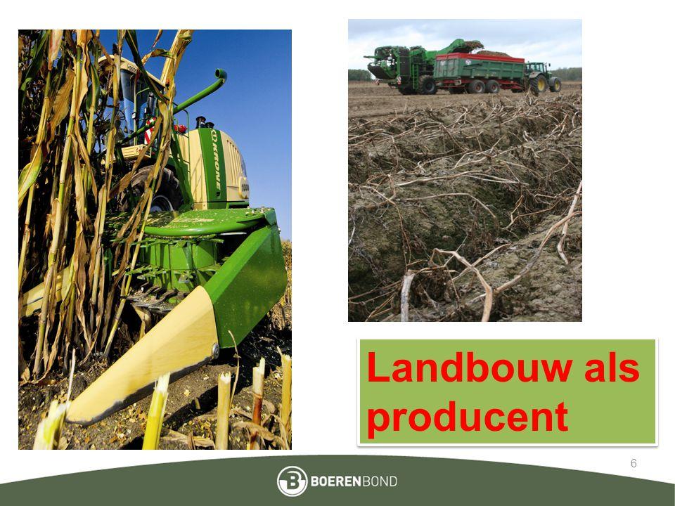 Landbouw als producent