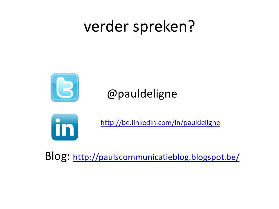 verder spreken @pauldeligne