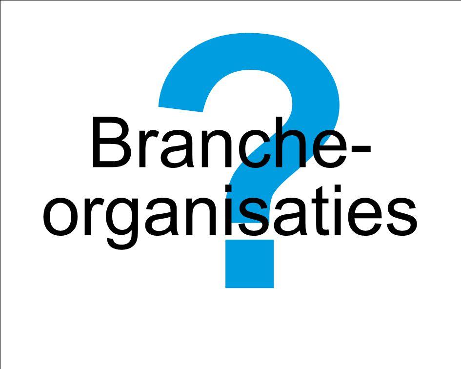 Branche-organisaties