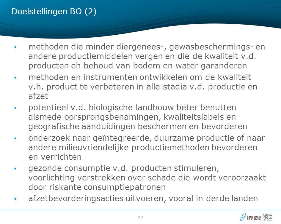 Doelstellingen BO (2)