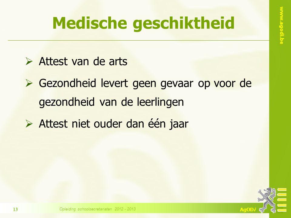 Medische geschiktheid