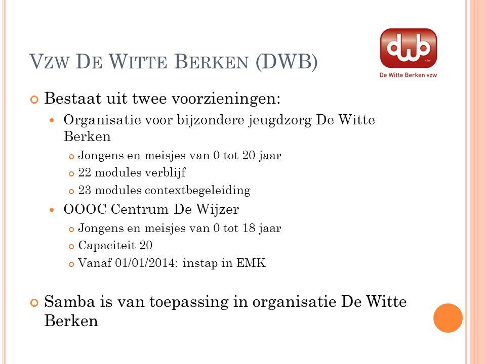 Vzw De Witte Berken (DWB)
