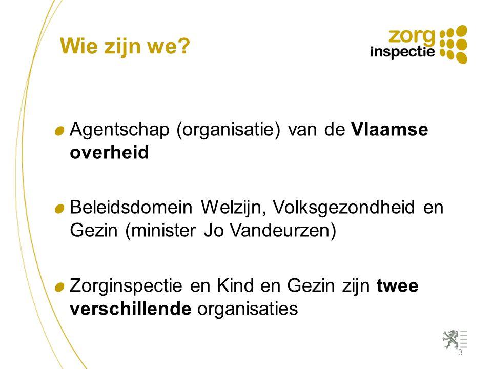 Wie zijn we Agentschap (organisatie) van de Vlaamse overheid