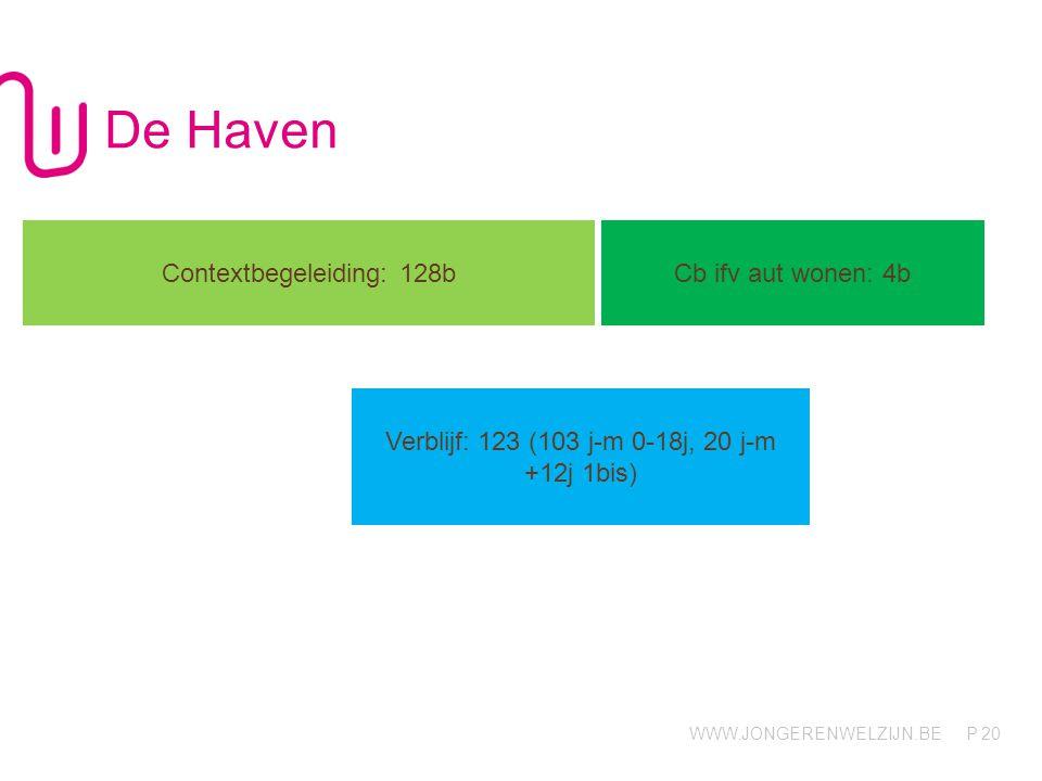 De Haven Contextbegeleiding: 128b Cb ifv aut wonen: 4b