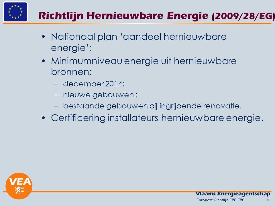 Richtlijn Hernieuwbare Energie (2009/28/EG)