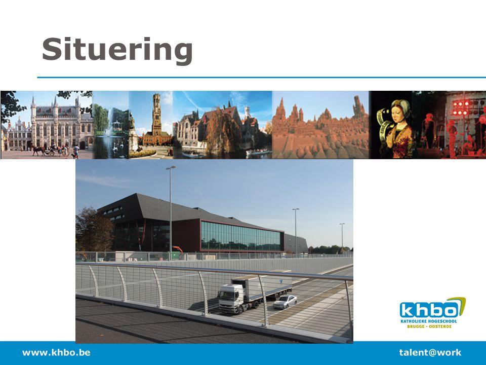 Situering Katholieke hogeschool Brugge – Oostende – binnenkort VIVES
