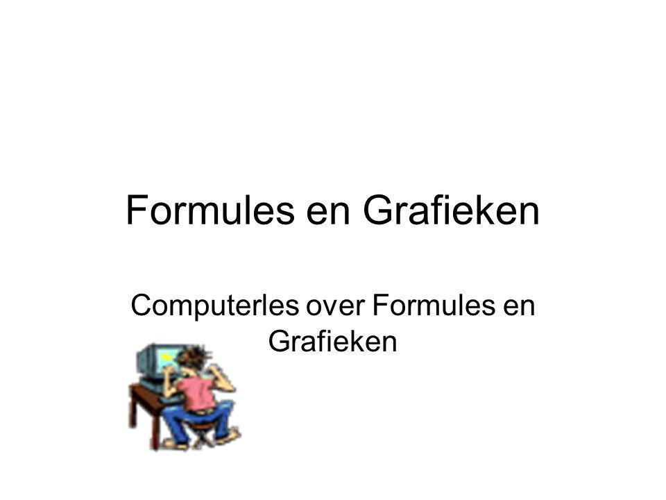 Computerles over Formules en Grafieken