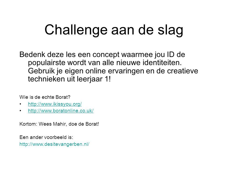 Challenge aan de slag