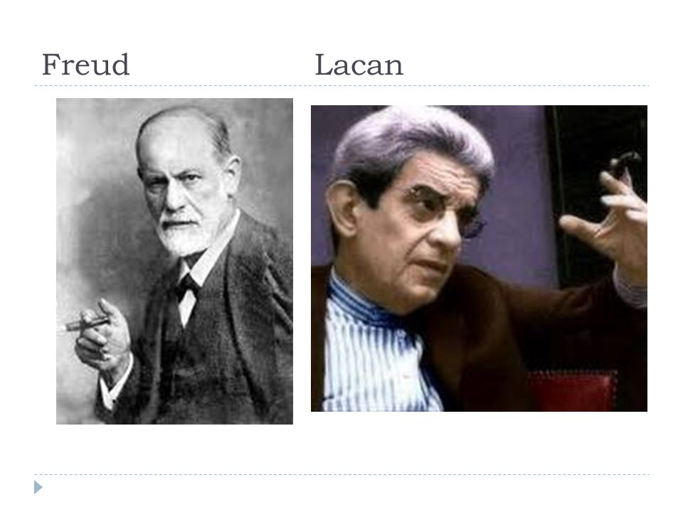 Freud Lacan Jacques Lacan (1901 –1981) was een Frans psychoanalyticus.