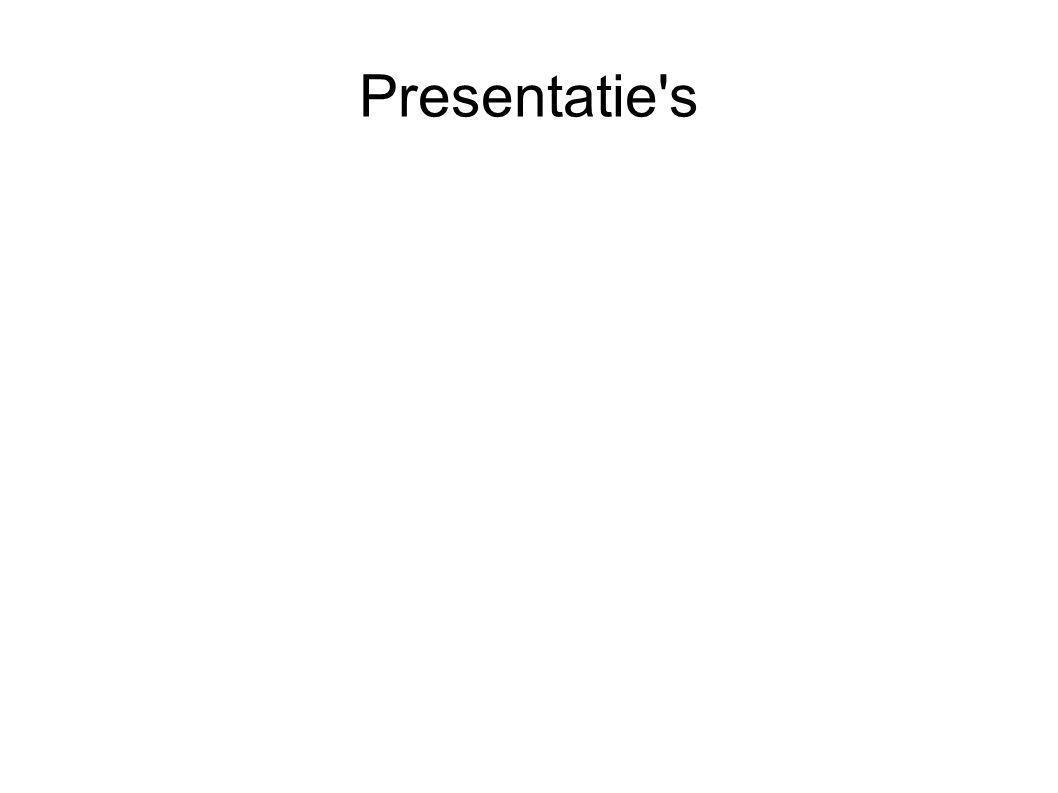 Presentatie s