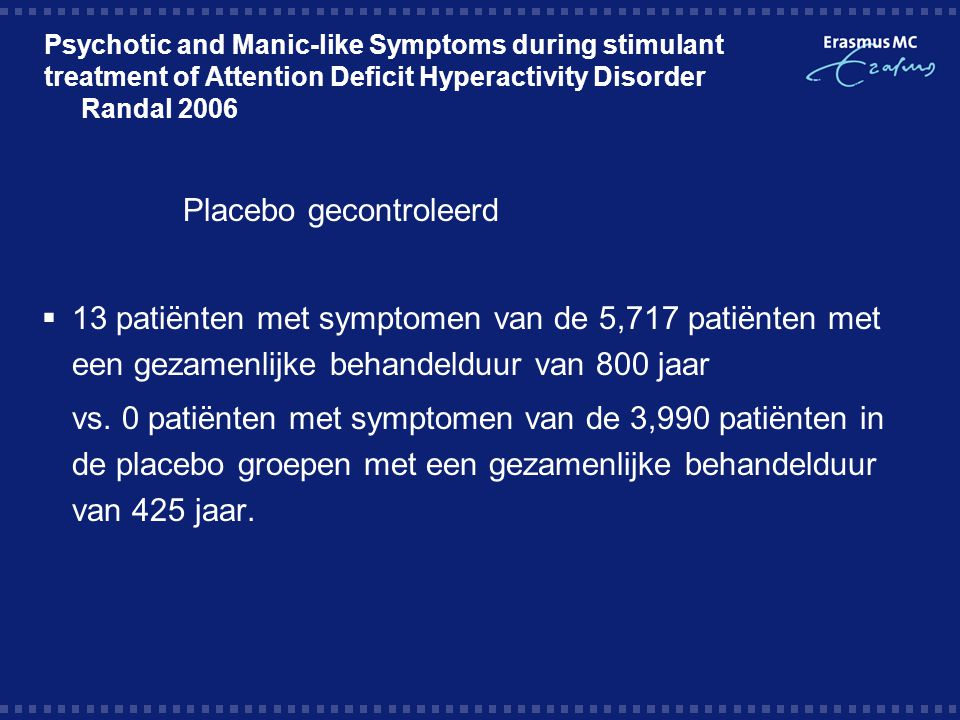 Placebo gecontroleerd