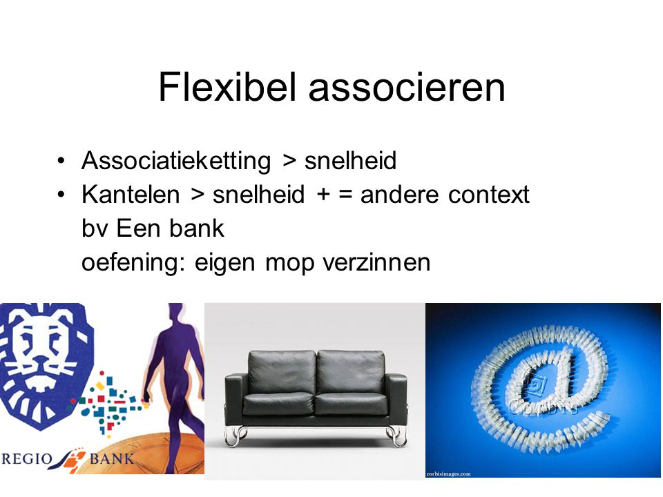 Flexibel associeren Associatieketting > snelheid