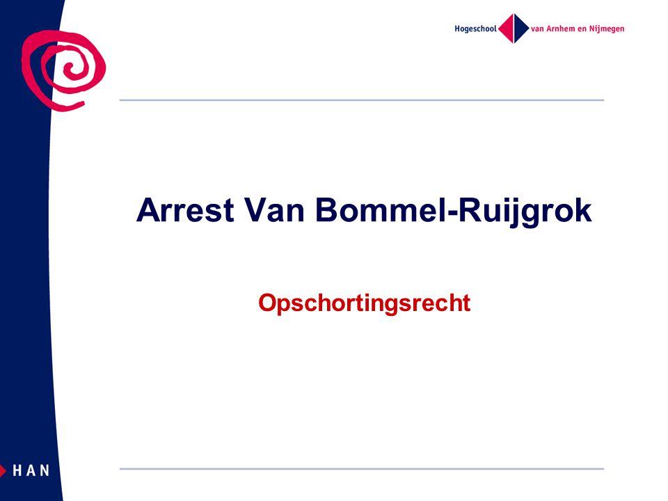 Arrest Van Bommel-Ruijgrok