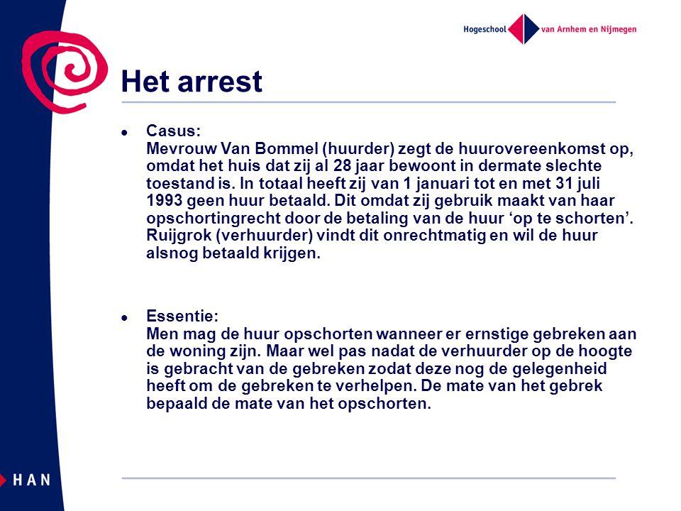 Het arrest