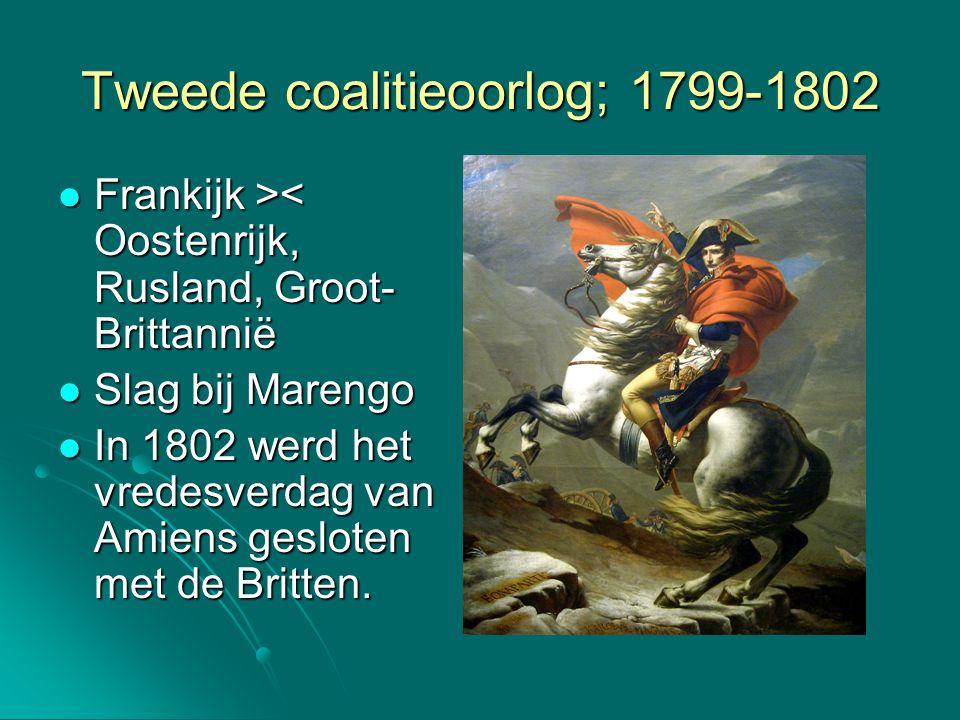 Tweede coalitieoorlog; 1799-1802