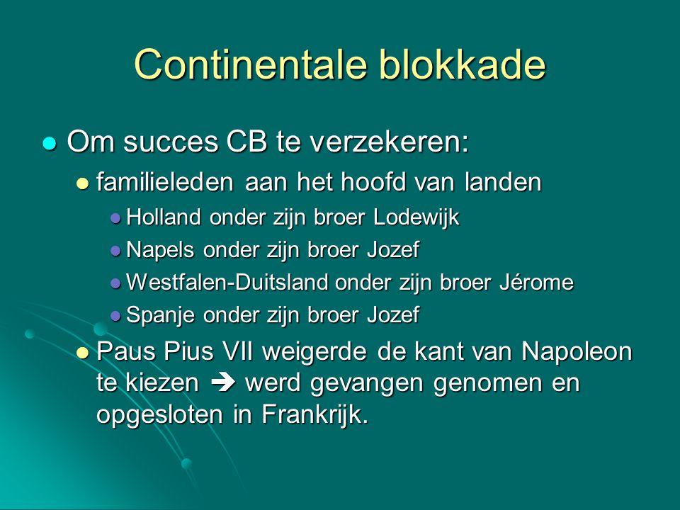 Continentale blokkade