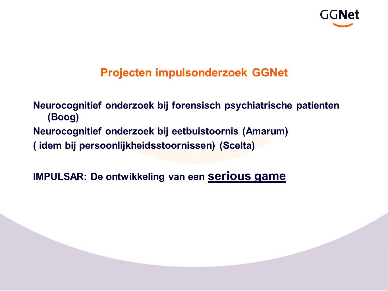 Projecten impulsonderzoek GGNet